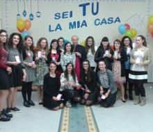 Fondi, 14.5.2016 Le Oratoriane giovani con l'Arcivescovo