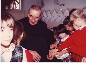 Padre F. con Oratoriane